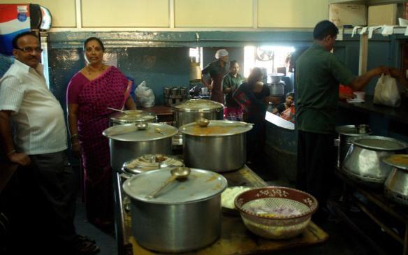 Hemavathi Bai's personally supervised kitchen