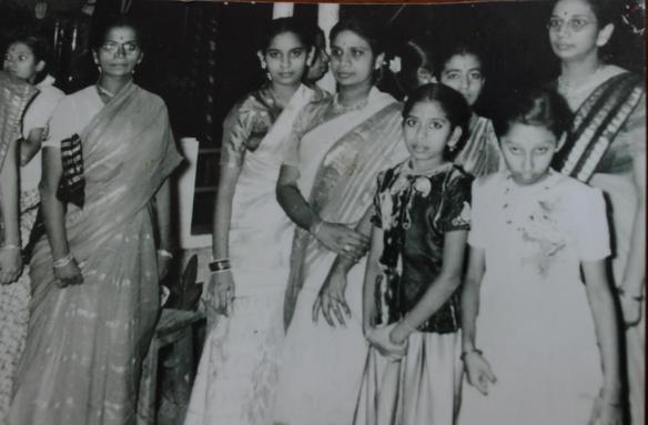 In the far right corner. Image courtesy: Kausalya Tirupuvanam