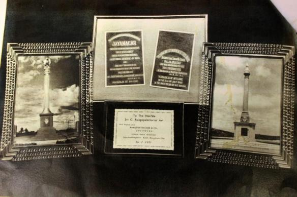 The casket with photographs.Pic courtesy: P Ramaswamy.