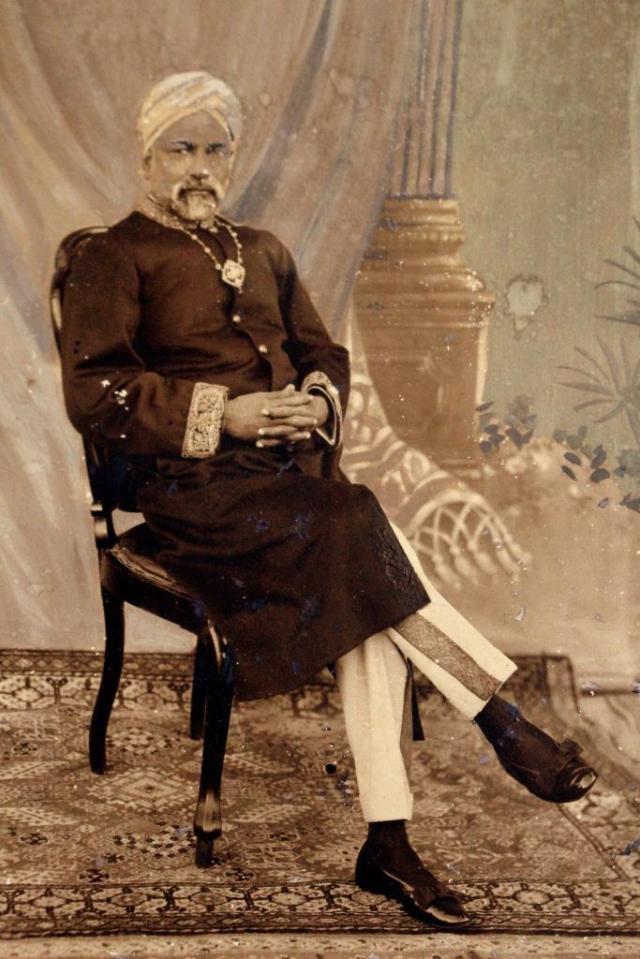 Mir Humza Hussain, portrait.Image courtesy: Nagineh Hussain Rizvi