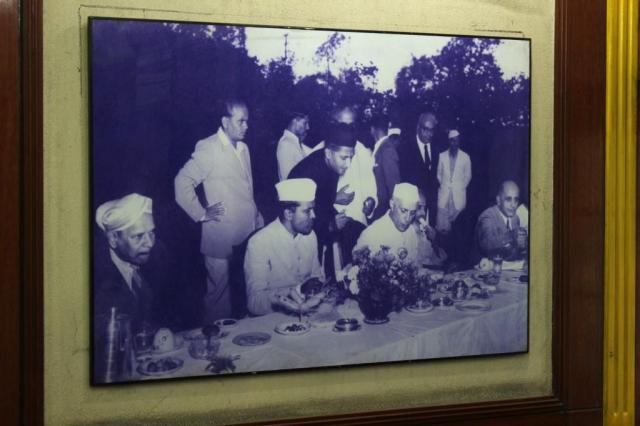 Dinner with Pandit Jawaharlal Nehru