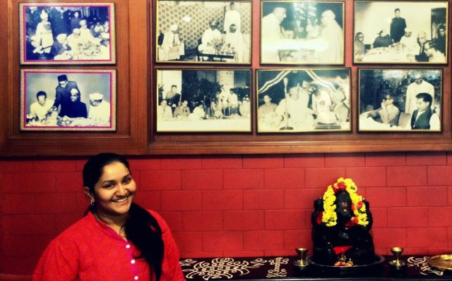 Chandrika Thyagaraja at Prakash Cafe